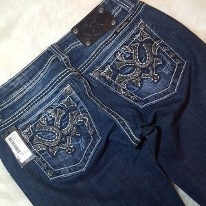 Miss me jeans size 27x34 boot cut mid Nwt